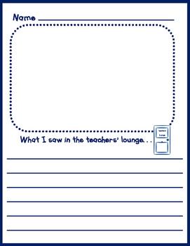 What I Saw in the Teachers' Lounge Freebie