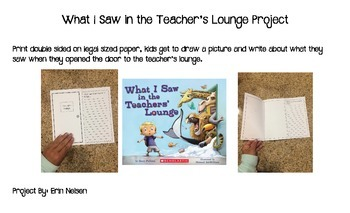 What I Saw in the Teacher's Lounge Project