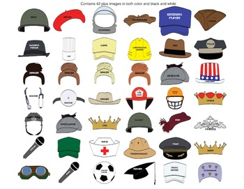 What I Want To Be: Career Hats