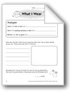 What I Wear (Thinking Skills)
