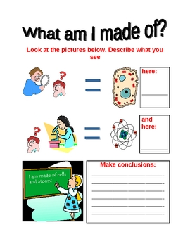 What am i made of elementary school science worksheet by teachersmart what am i made of elementary school science worksheet ibookread PDF
