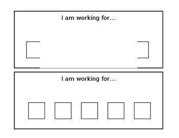What I am working for behavioral chart