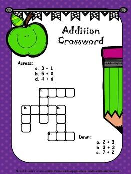 Mathematics Practice Crosswords