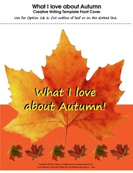 What I love about Autumn!