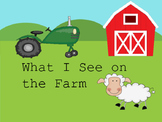 What I see on the Farm