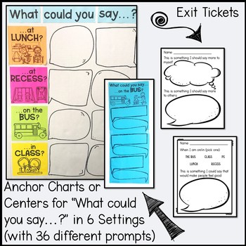 What If Everybody Said That? Activities and Lesson Plan