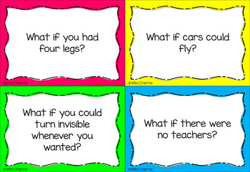 What If? Task Cards