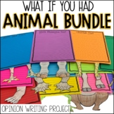 What If You Had Animal Adaptation Project | Writing BUNDLE