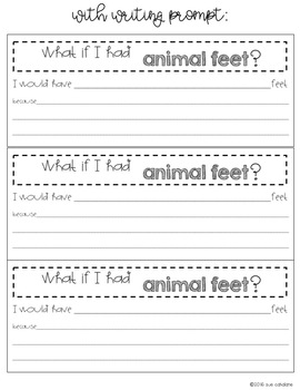 What If You Had Animal Feet!? Addresses NGSS 3-LS4-2 Animal Adaptations