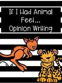 What If You Had Animal Feet Opinion Writing