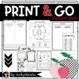 September Print Go Teach