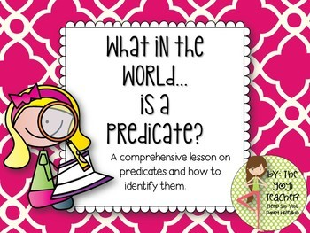What In the World is a Predicate?