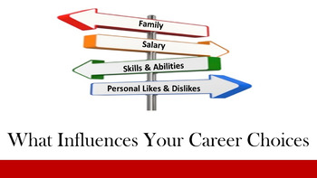 What Influences Your Career Choices Lesson