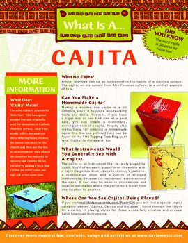 What Is A Cajita (Latin American Percussion Instrument)?