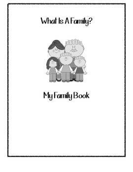 What Is A Family? My Family Book