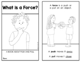 "FORCE and MOTION: ""What Is A Force?"" {Emergent Science Reader}"