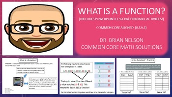What Is A Function? (PowerPoint Lesson and Printables!)