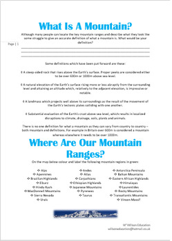 What Is A Mountain And How Are They Formed?