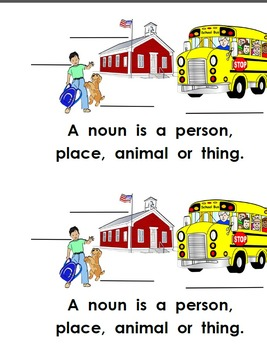 What Is A Noun? Emergent Color Reader
