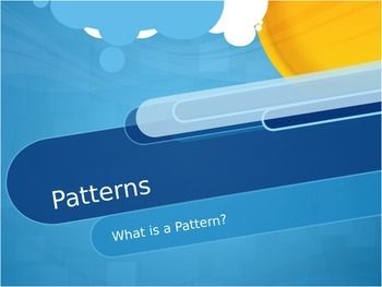 What Is A Pattern? Interactive Smart Board Powerpoint Presentation