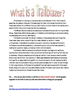 What Is A Trailblazer?