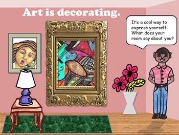 What Is Art: An Interactive Lesson
