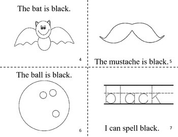 What Is Black? Easy Reader Color Book / Common Core Aligned