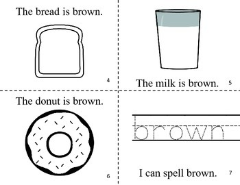 What Is Brown? Easy Reader Color Book / Common Core Aligned