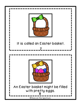 Autism Social Skills: Easter