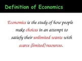 What Is Economics? An Introduction to Economics PowerPoint Presentation
