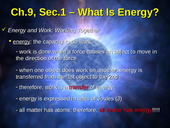 What Is Energy? Types of Potential Energy