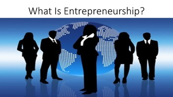 What Is Entrepreneurship Lesson