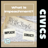 What Is Impeachment?  US History and Activities