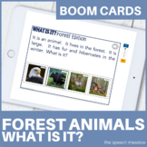 What Is It? Forest Animals Edition |Distance Learning|