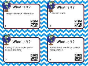 What Is It? Geography with QR Codes