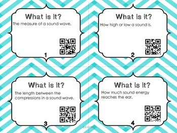 What Is It? Sound Vocabulary with QR Codes