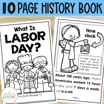 What Is Labor Day?  (A Holiday Reader & Assessment for Primary Children)