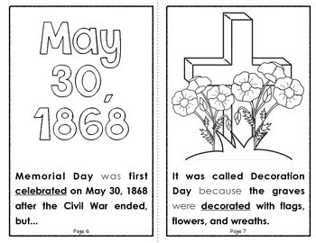 What Is Memorial Day?  {A Holiday Reader for Primary Students}