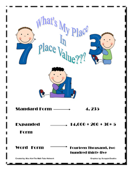 Bundle:What Is My Place In Place Value-3rd Grade?