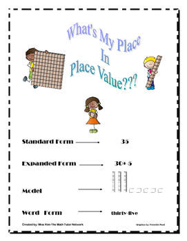 What Is My Place In Place Value-1st Grade?