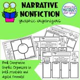 Narrative Nonfiction Book Companion Graphic Organizers