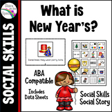 New Year's Social Story and Social Skills Autism