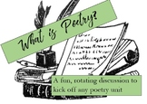 What Is Poetry?: a Class Discussion to Kick off Your Poetry Unit