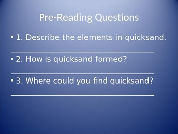 What Is Quicksand