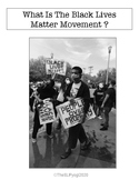 What Is The Black Lives Matter Movement ? Social Story FREEBIE