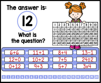 What Is The Question? - Unit 13 - First Grade Math Paperless Warm-Up Lessons