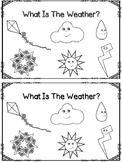 What Is The Weather?  Emergent Reader