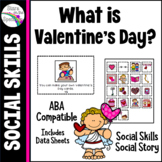 Valentine's Day Social Skills Social Story Autism