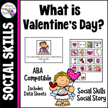 Valentine's Day Social Story and Social Skills