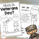 What Is Veterans Day?  {A Holiday Reader for Primary Students}